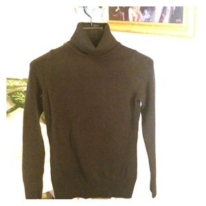 French Connection black Turtle-neck sweater
